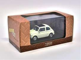 Fiat  - white - 1:43 - Magazine Models - At500w - magAt500w | The Diecast Company