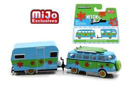 GreenLight - Volkswagen Siesta Travel Trailer - gl51114D : Volkswagen Samba Bus & Siesta Travel Trailer *Hitch and tow Series II*