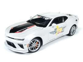 Auto World - Chevrolet  - AW236 : 2017 Chevrolet Camaro Indy Pace Car 50th Anniversary, white