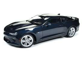 Auto World - Chevrolet  - AW239 : 2016 Chevrolet Camaro SS (50th Anniversary) blue metallic