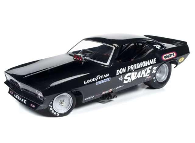 Don Auto World >> Plymouth 1973 Black 1 18 Auto World Aw1177 The