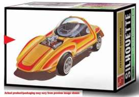 AMT - Silhouette  - amts1045 : 1/25 Silhouette Show Car & Trailer (Bill Cushenbery) Hot Wheels, plastic modelkit