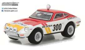 GreenLight - Datsun  - gl29880C : 1973 Datsun Baja Z #300 Brock Racing Enterprises (BRE) Peter Brock *Tokyo Torque Series 1*, white/red/yellow