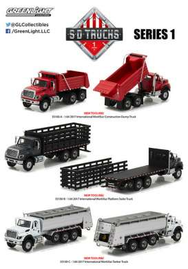 GreenLight - Assortment/ Mix  - gl45010~6 : 1/64 Super Duty Trucks Series 1 Assortment of 6.