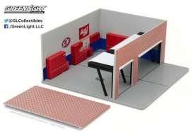 GreenLight - Accessoires  - gl57011 : 1/64 Weekend Workshop STP *Mechanic
