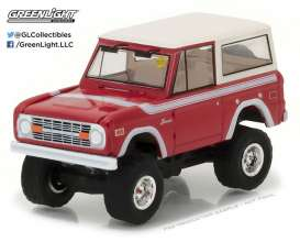 GreenLight - Ford  - gl37110F : 1966 Ford Bronco U13 roadster *Mecum Auctions Collector Cars Series 1*