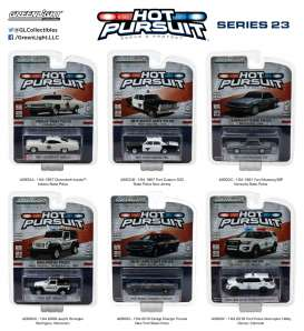 GreenLight - Assortment/ Mix  - gl42800~12 : Hot Pursuit series 23, assortment of 12.