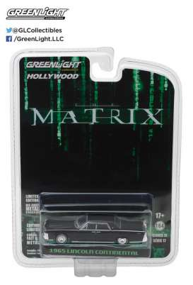 GreenLight - Lincoln  - gl44770C : 1965 Lincoln Continental *The Matrix (1999)* Hollywood series 17