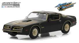 Pontiac  - Firebird Trans Am 1977 black - 1:43 - GreenLight - 86513 - gl86513 | The Diecast Company