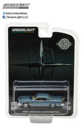 GreenLight - Lincoln  - gl29895 : 1965 Lincoln Continental Madison Gray Metallic *Hobby Exclusive*
