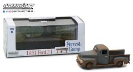 Ford  - F-1 pick-up *Forrest Gump* 1951  - 1:43 - GreenLight - 86514 - gl86514 | The Diecast Company