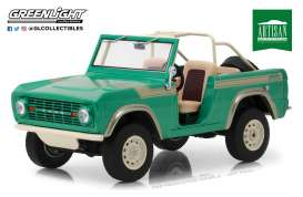 Ford  - Bronco 1976 green - 1:18 - GreenLight - 19034 - gl19034 | The Diecast Company