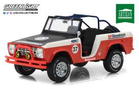Ford  - Baja Bronco  1966 red - 1:18 - GreenLight - 19037 - gl19037 | The Diecast Company