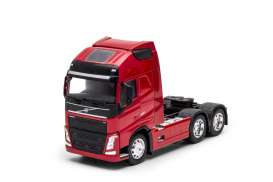 Volvo  - FH 3-axle 2016 red - 1:32 - Welly - welly32690Lr | The Diecast Company