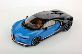 Bugatti  - 2016 blue - 1:18 - GTA - gta11010b | The Diecast Company