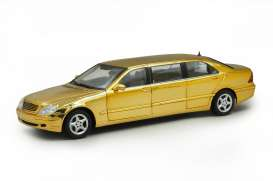 Mercedes Benz  - gold plating - 1:18 - SunStar - 4115 - sun4115 | The Diecast Company