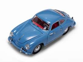 Porsche  - 356A 1500 GS Carrera GT 1957 aquamarine - 1:18 - SunStar - 1342 - sun1342 | The Diecast Company