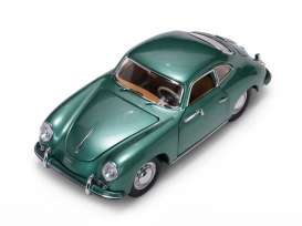 Porsche  - 356A 1500 GS Carrera GT 1957 green - 1:18 - SunStar - 1343 - sun1343 | The Diecast Company