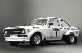 Ford  - Escort RS1800 #1 2010 white/blue - 1:18 - SunStar - 4499 - sun4499 | The Diecast Company