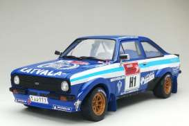 Ford  - Escort RS1800 #1 2012 blue/white - 1:18 - SunStar - 4500 - sun4500 | The Diecast Company
