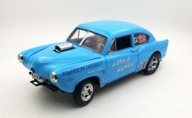 Kaiser  - 1951 blue - 1:18 - SunStar - 5107 - sun5107 | The Diecast Company