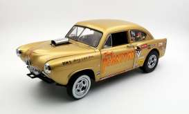 Kaiser  - 1951 gold - 1:18 - SunStar - sun5100 | The Diecast Company