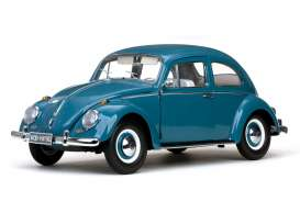 Volkswagen  - 1949 blue - 1:12 - SunStar - 5215 - sun5215 | The Diecast Company