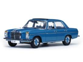 Mercedes Benz  - 1968 light blue - 1:18 - SunStar - 4573 - sun4573 | The Diecast Company
