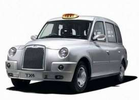London TX Taxi Cab  - 2007 platinum silver - 1:18 - SunStar - sun5252 | The Diecast Company