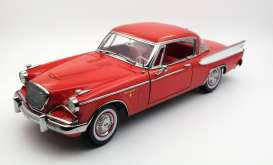 Studebaker  - 1957 apache red - 1:18 - SunStar - sun6153 | The Diecast Company