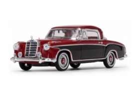 Mercedes Benz  - 220 SE Coupe 1958 red/black - 1:43 - Vitesse SunStar - 28667 - vss28667 | The Diecast Company