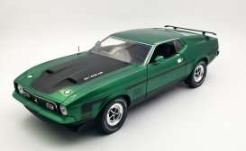 Ford  - Mustang Mach I 351 Ram Air 1971 graber green - 1:18 - SunStar - 3636 - sun3636 | The Diecast Company