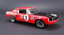 Acme Diecast - Ford  - acme12988 : 1968 Trans Am Shelby Mustang #1 *Jerry Titus* 1968 Daytona 24H Trans Am Champion.