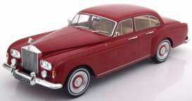 Rolls Royce  - 1965 red - 1:18 - MCG - MCG18056 | The Diecast Company