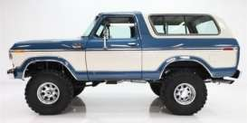 Ixo Premium X - Ford  - ixPRD045 : 1978 Ford Bronco, blue/white