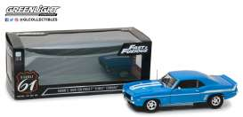 Chevrolet  - Yenko 427 Camaro F&F 1969 LeMans blue/white - 1:18 - Highway 61 - hwy18001 | The Diecast Company