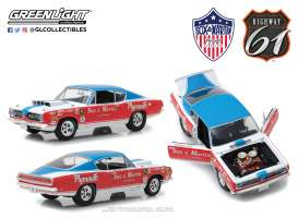 Plymouth  - Barracuda Sox & Martin 1968 red/white/blue - 1:18 - Highway 61 - hwy18003 | The Diecast Company
