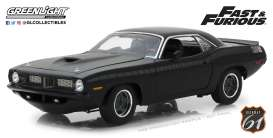 Plymouth  - Barracude F&F black - 1:18 - Highway 61 - hwy18005 | The Diecast Company