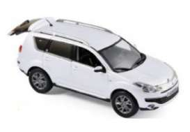 Citroen  - 2007  banquise white  - 1:43 - Norev - nor155654 | The Diecast Company