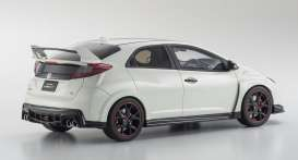 Honda  - Civic Type R 2015 white - 1:18 - Kyosho - KSR18022w - kyoKSR18022w | The Diecast Company