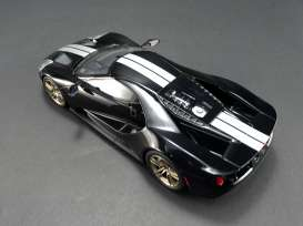 Ford  - GT 2016 black/white - 1:18 - Acme Diecast - US001B - GTUS001B | The Diecast Company