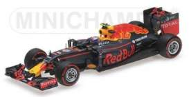 Minichamps - Red Bull Racing   - mc417160833 : 2016 Red Bull Racing Tag Heuer RB12 *Max Verstappen* 3rd German GP *Resin series*, blue/yellow/red