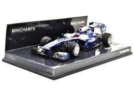 Williams Cosworth - 2010 blue/white - 1:43 - Minichamps - mc417100009 | The Diecast Company
