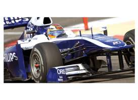Williams Cosworth - 2010 blue/white - 1:43 - Minichamps - 417100010 - mc417100010 | The Diecast Company
