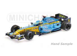 Minichamps - Renault  - mc435060001 : 2006 Renault F1 R26 *Fernando Alonso* Winner Japanese GP, blue/yellow