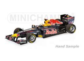 Red Bull Racing   - 2011 blue/red/yellow - 1:43 - Minichamps - mc435110401 | The Diecast Company