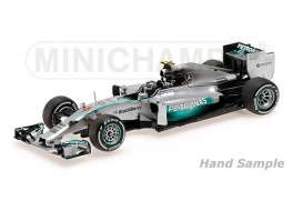 Mercedes Benz AMG - 2014 silver - 1:43 - Minichamps - mc435140506 | The Diecast Company