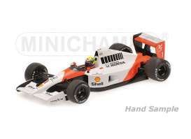 McLaren Honda - 1991 white/orange - 1:43 - Minichamps - 435910001 - mc435910001 | The Diecast Company