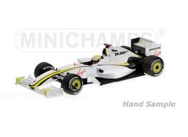 Brawn GP  - 2009 white/yellow - 1:43 - Minichamps - mc436090022 | The Diecast Company