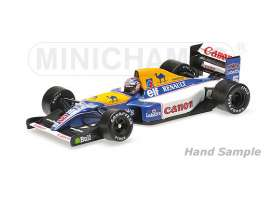 Minichamps - Williams Renault - mc436920005 : 1992 Williams Renault FW14B *Nigel Mansell* World Champion, blue/white/yellow